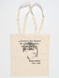 """Baumwollbeutel Sophie Scholl """"Mantel"""" - natur"""