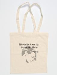 "Baumwollbeutel Sophie Scholl ""Rose"" - natur"
