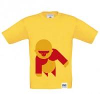 BVE Kids-Shirt GELB