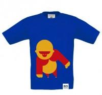 BVE Kids-Shirt BLAU