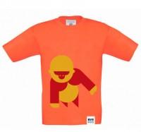 BVE Kids-Shirt ORANGE