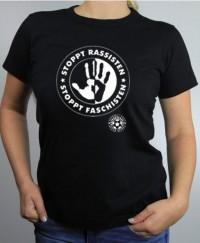 T-Shirt Damen - Stoppt Rassisten