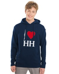 I love HH - Herren-Hoodie