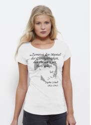 "T-Shirt Damen, Sophie Scholl ""Herz"""