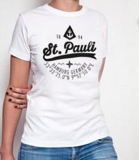 T-Shirt (female) - St. Pauli Anker
